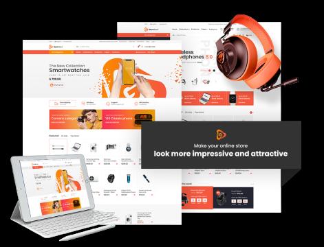 GemMart - ecommerce website theme for Shopify