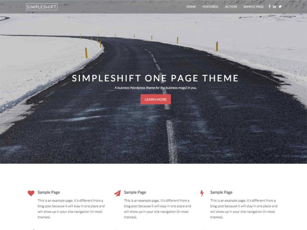 SimpleShift Multi-purpose Theme