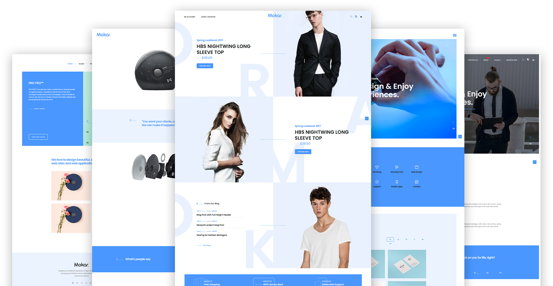 Mokar WordPress Theme