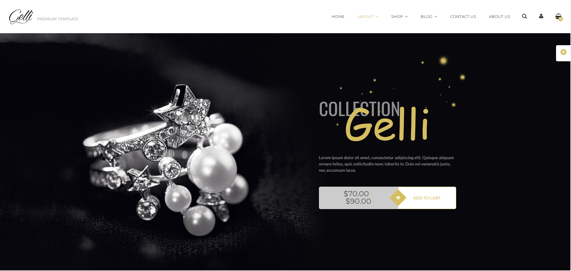 Gelli WordPress Theme