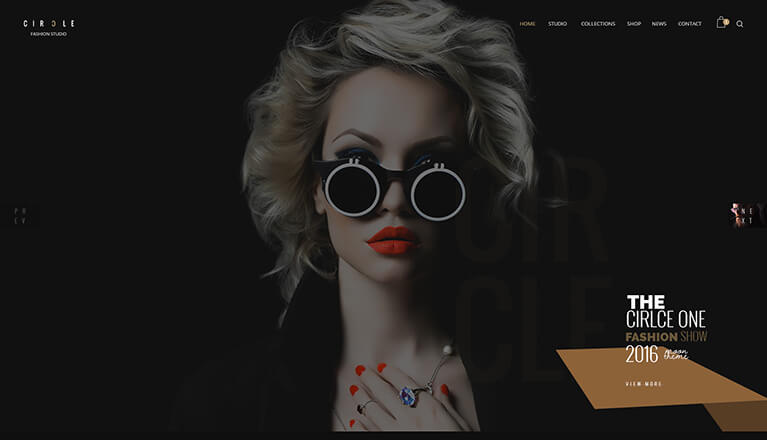 Circle Flexible Responsive Theme