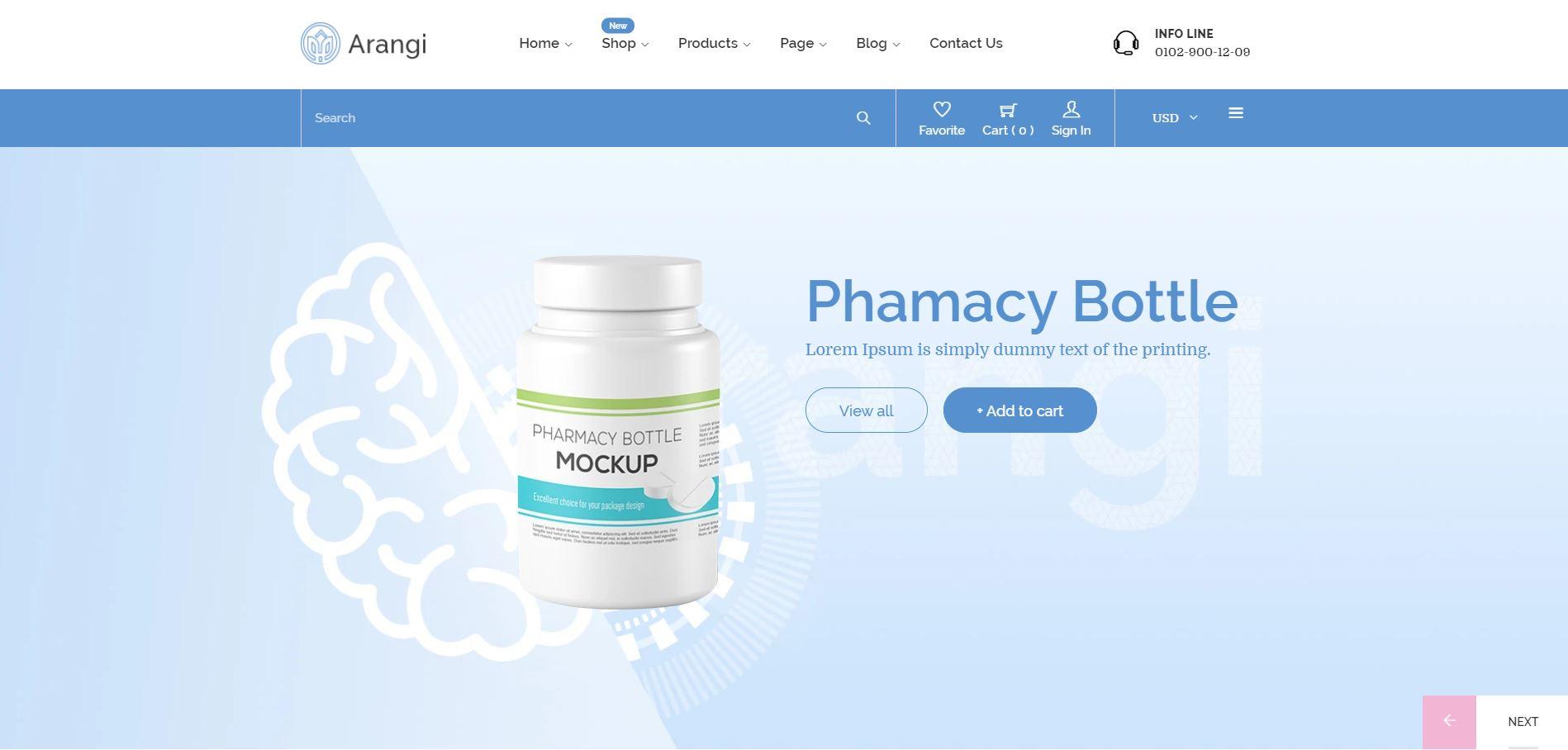 Pharmacy Shopify theme