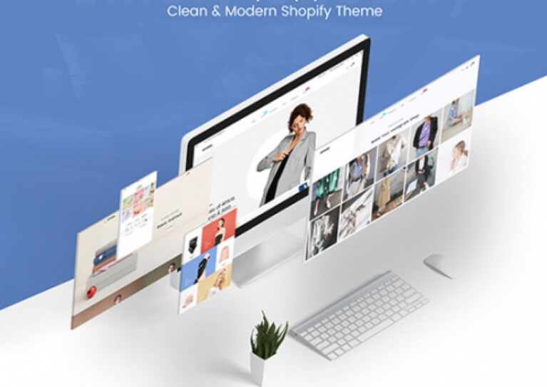 Clean shopify theme