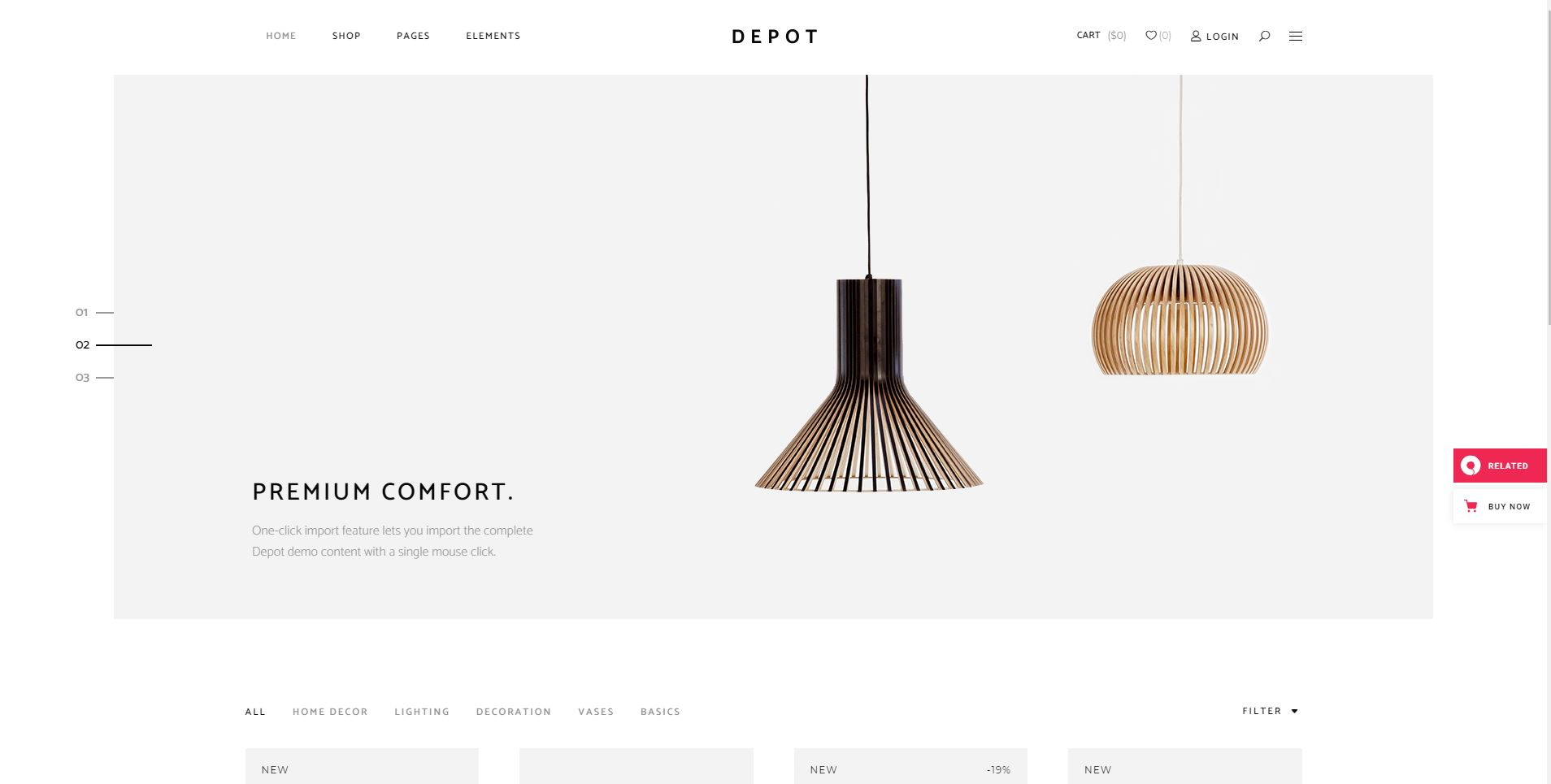 Depot eCommerce Theme