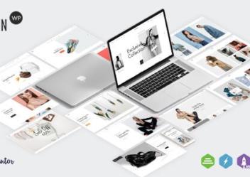 Lusion wordpress ecommerce theme
