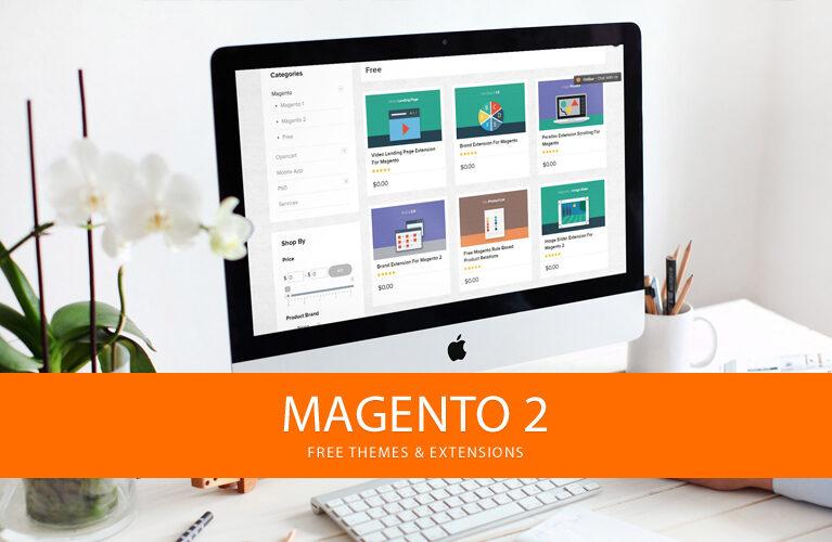 Magento 2 free themes