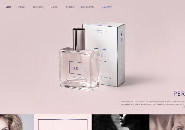 Magento perfume theme