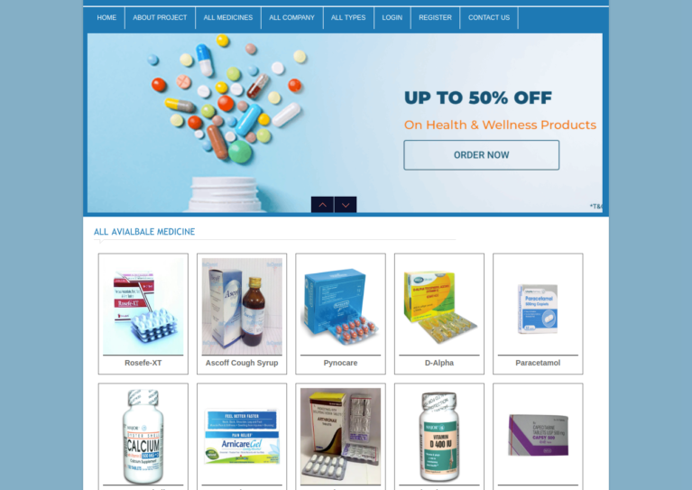 magento pharmacy theme