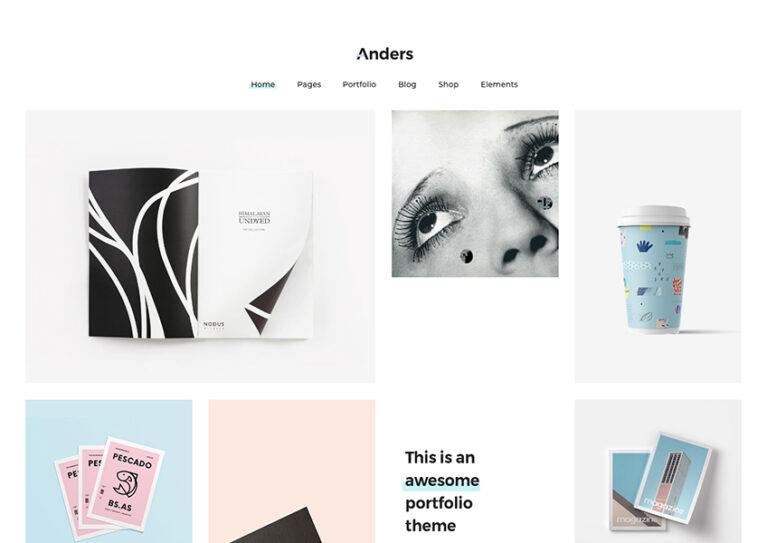 wordpress portfolio themes free