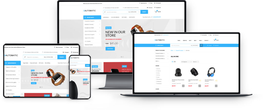 Automatic e-Commerce WordPress Theme