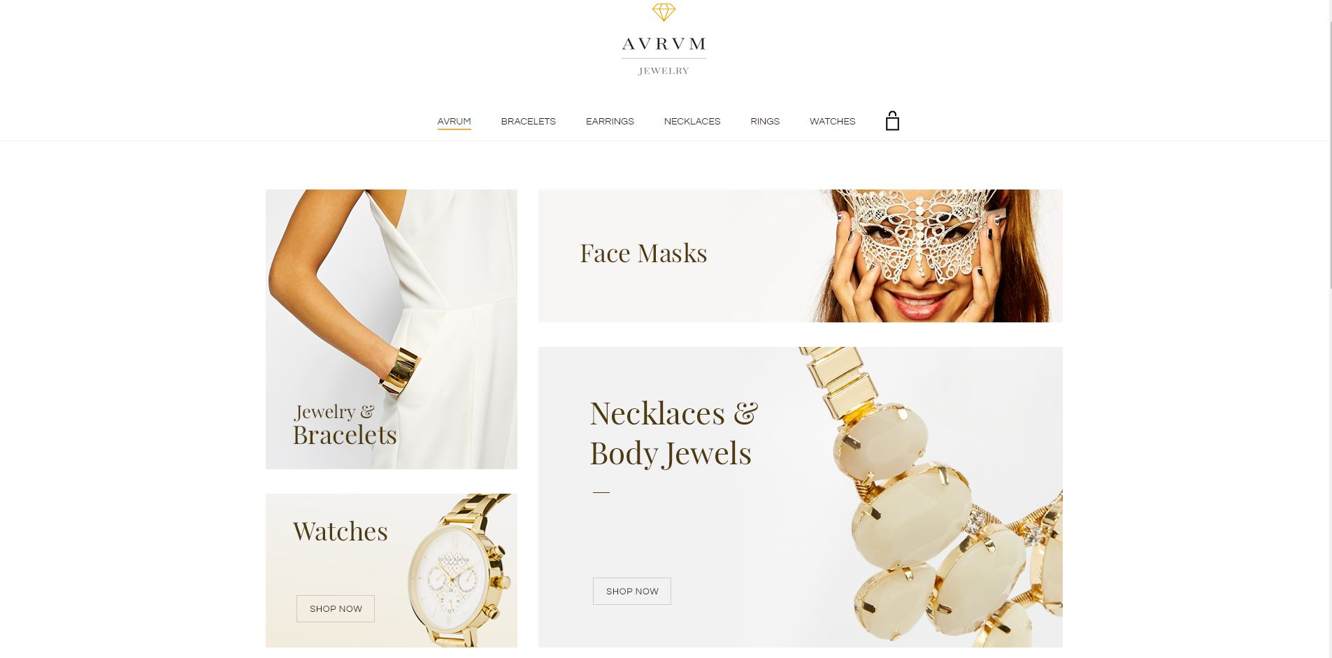 Aurum WooComerce Jewelry Themes