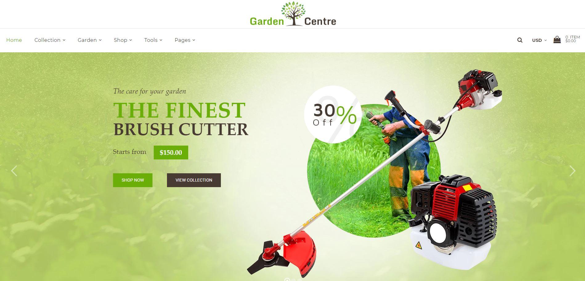 Garden Shopify theme