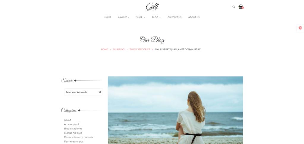 Gelli free wordpress blog themes