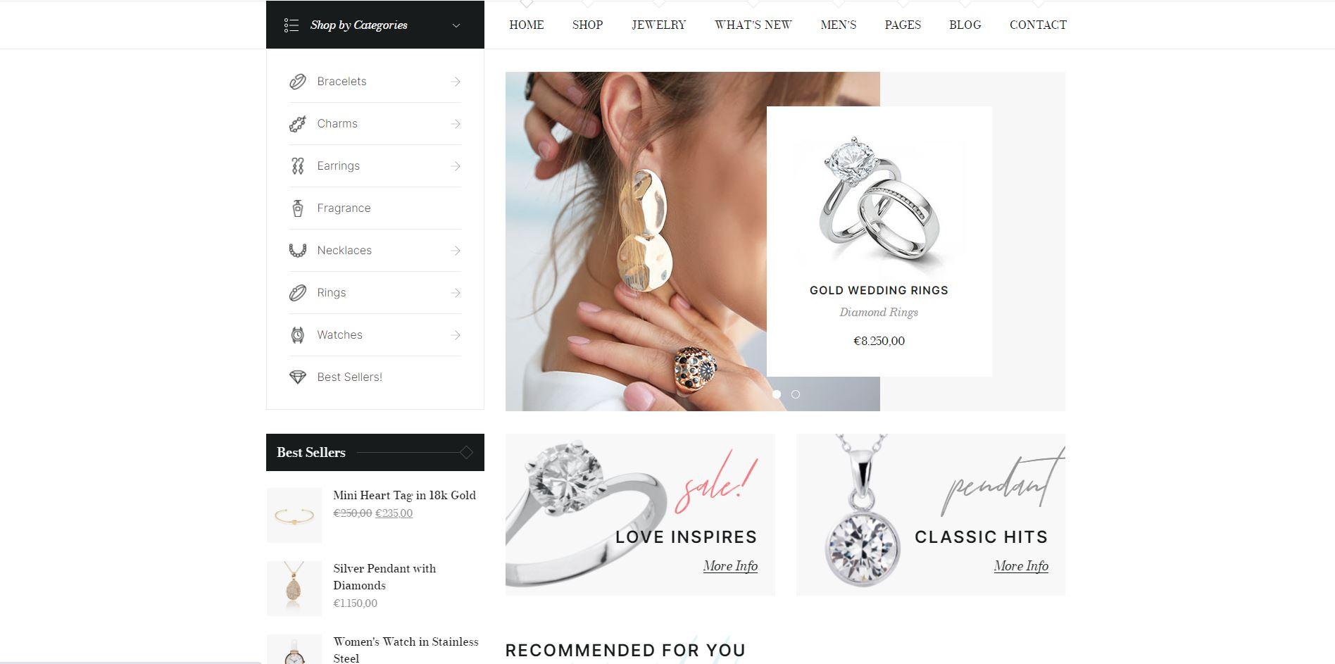 Diamind - Jewelry & Watch Store