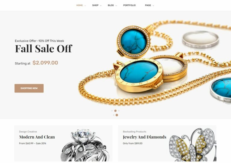 Woocommerce jewelry themes