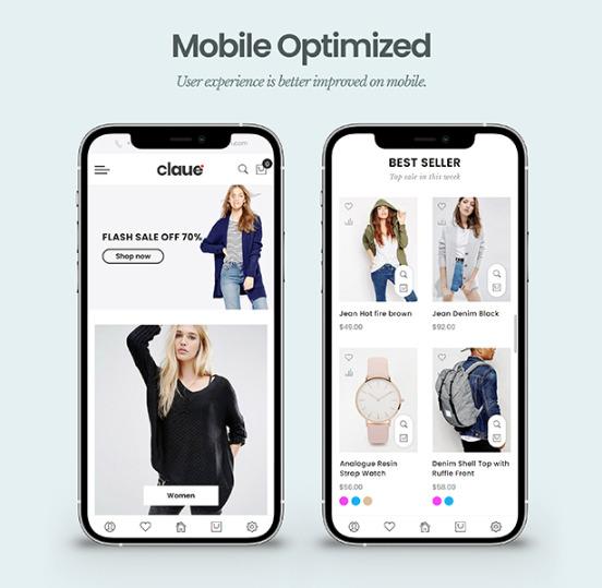 Magento mobile theme