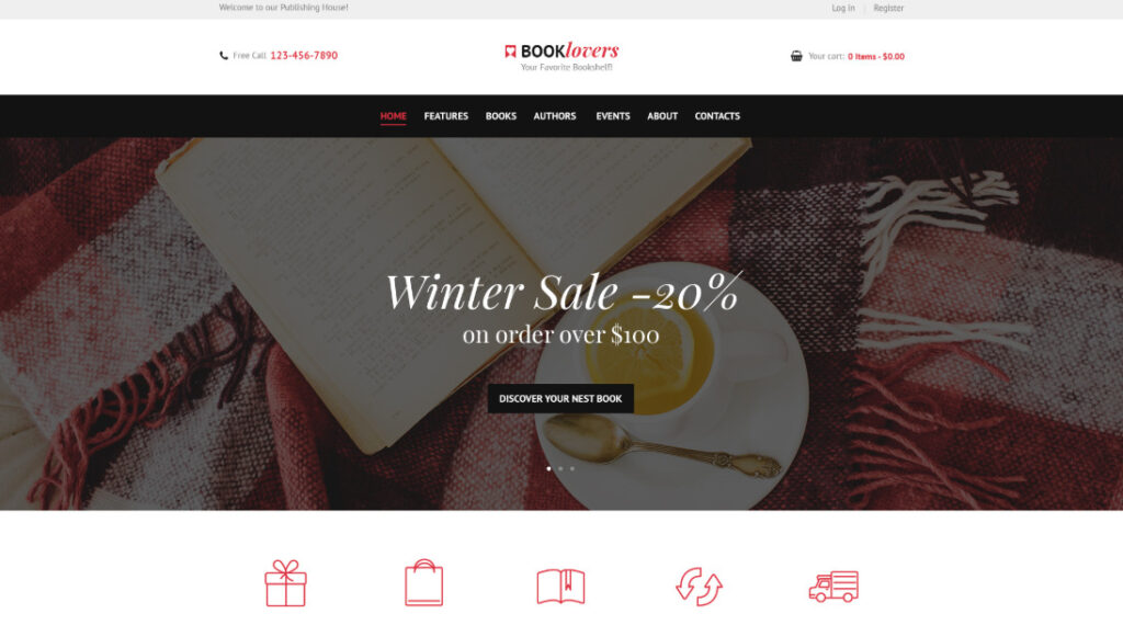 Woocommerce bookstore themes