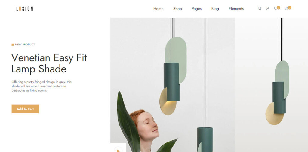 Lusion decorations woocommerce themes