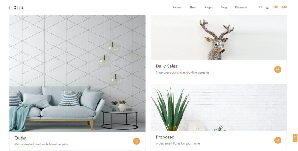 homepage lusion