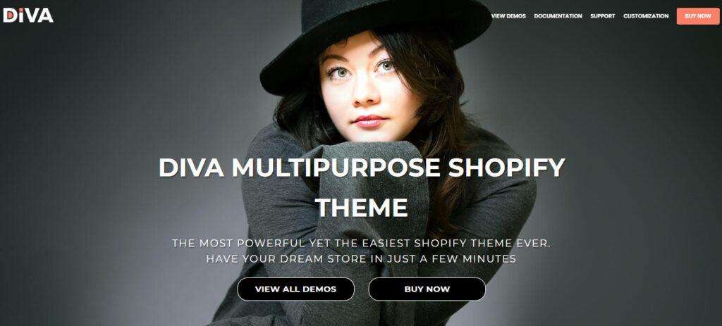 shopify minimal theme