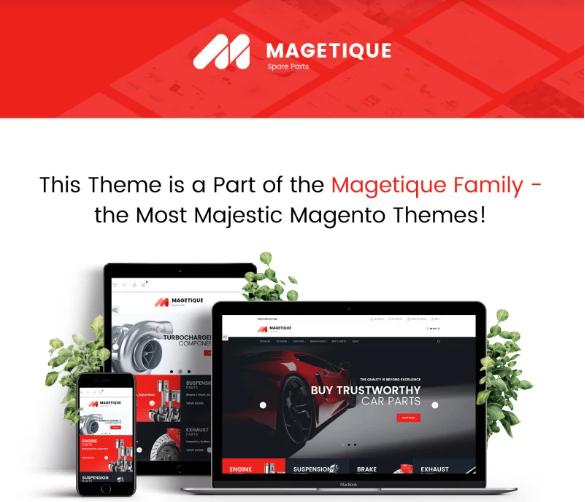Magento 2 ecommerce themes