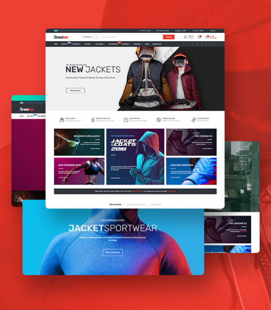 the right shoes Magento theme i