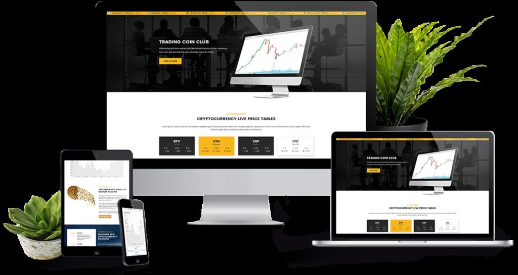 Cryptcio Free estate WordPress themes