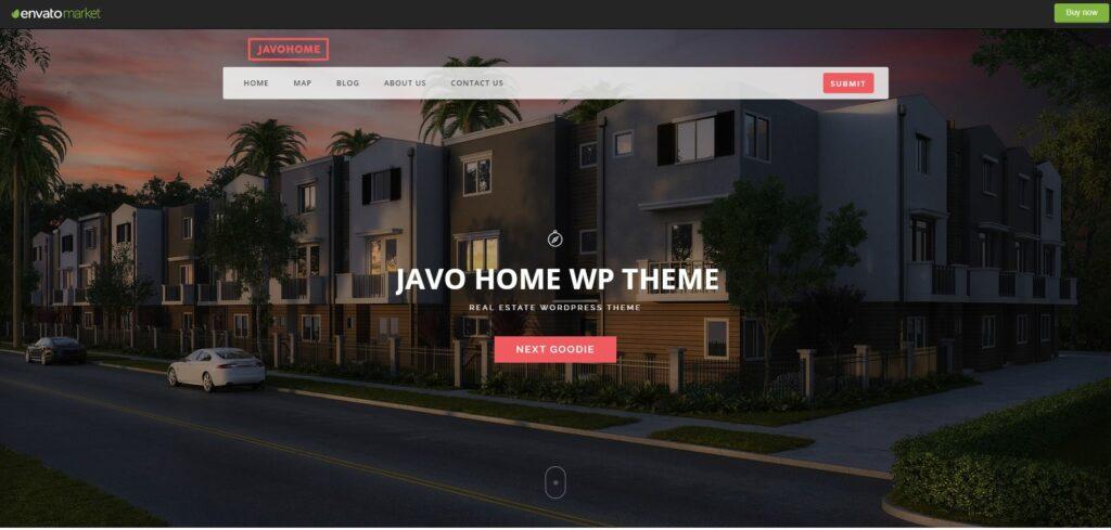 Javo Home Free estate WordPress themes