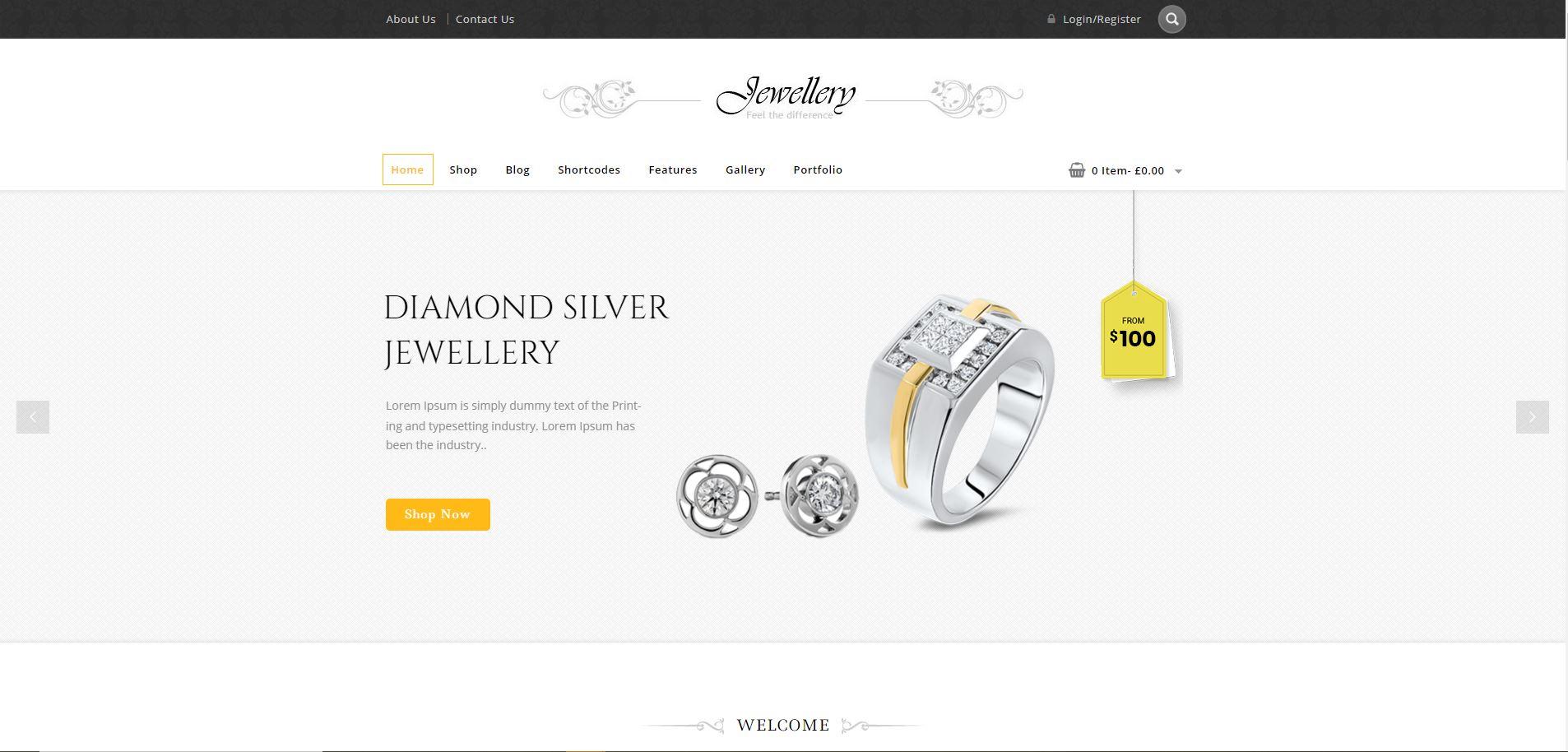 Jewellery WooComerce Jewelry Themes