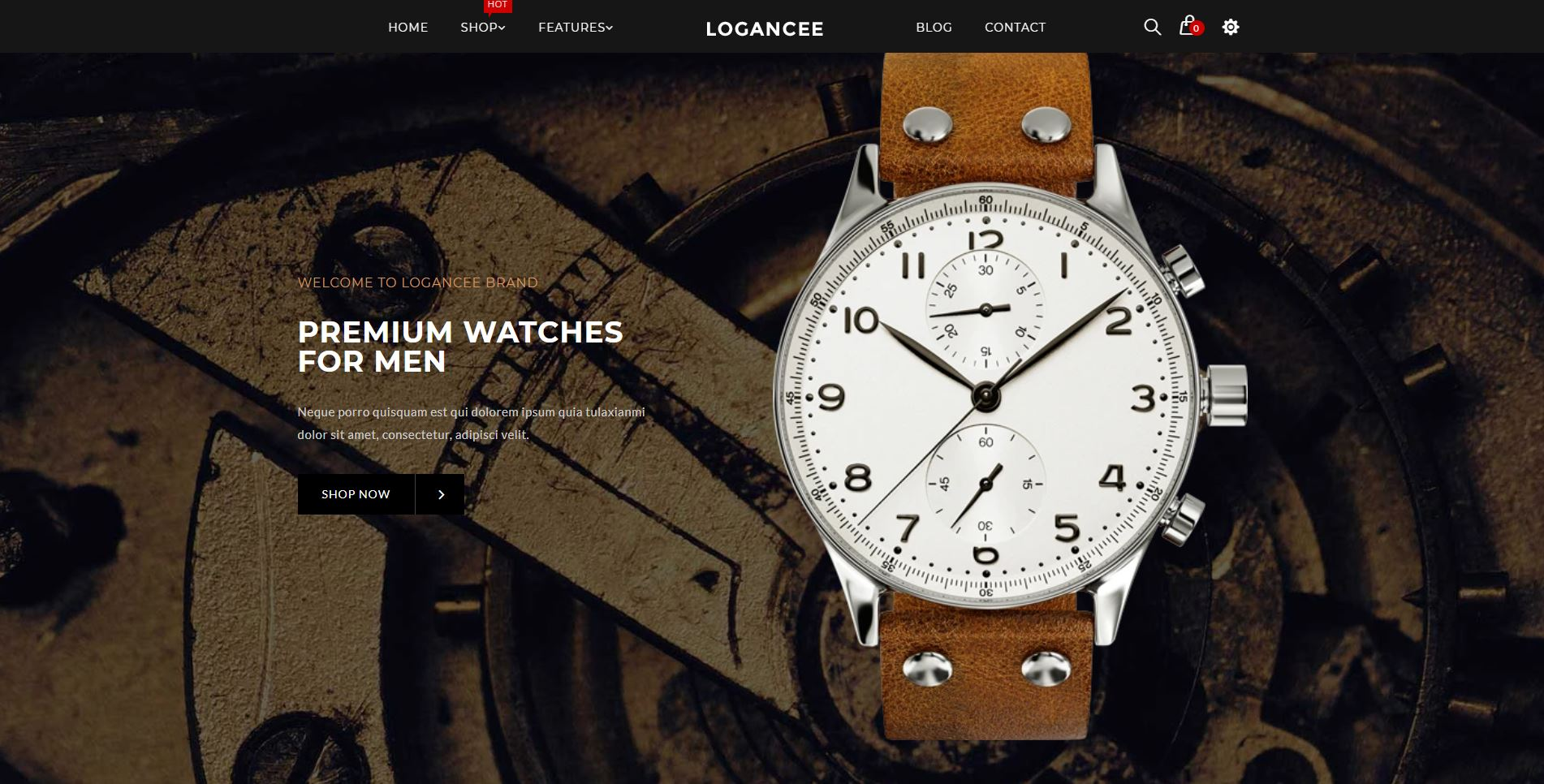 Watches shopify theme