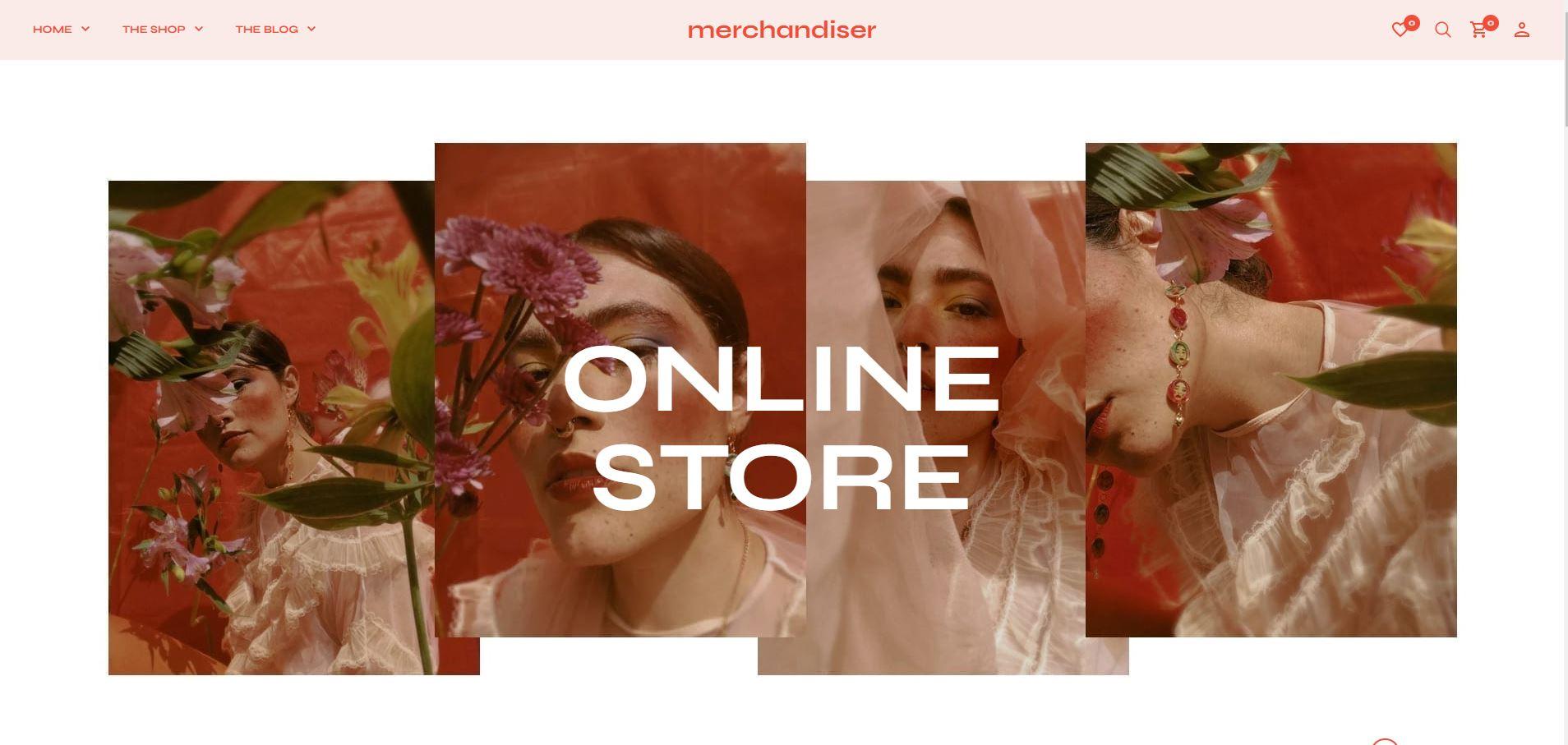 Merchandiser minimal Woocommerce themes