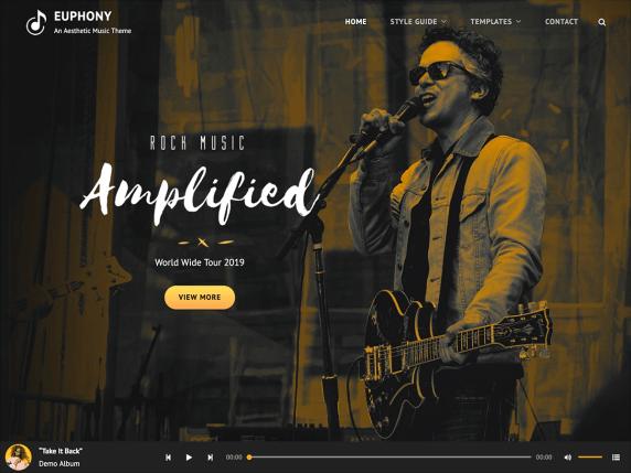 Free Music WordPress Themes