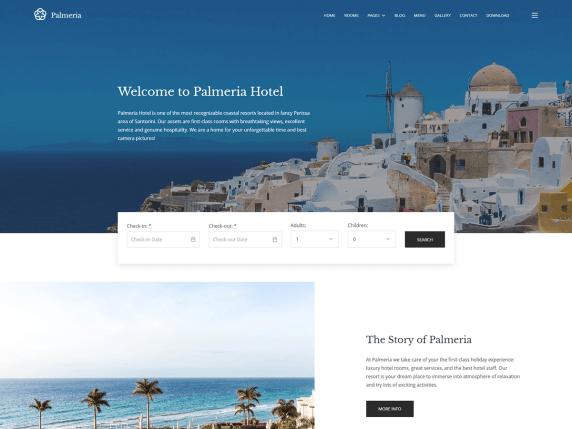 Free estate WordPress themes