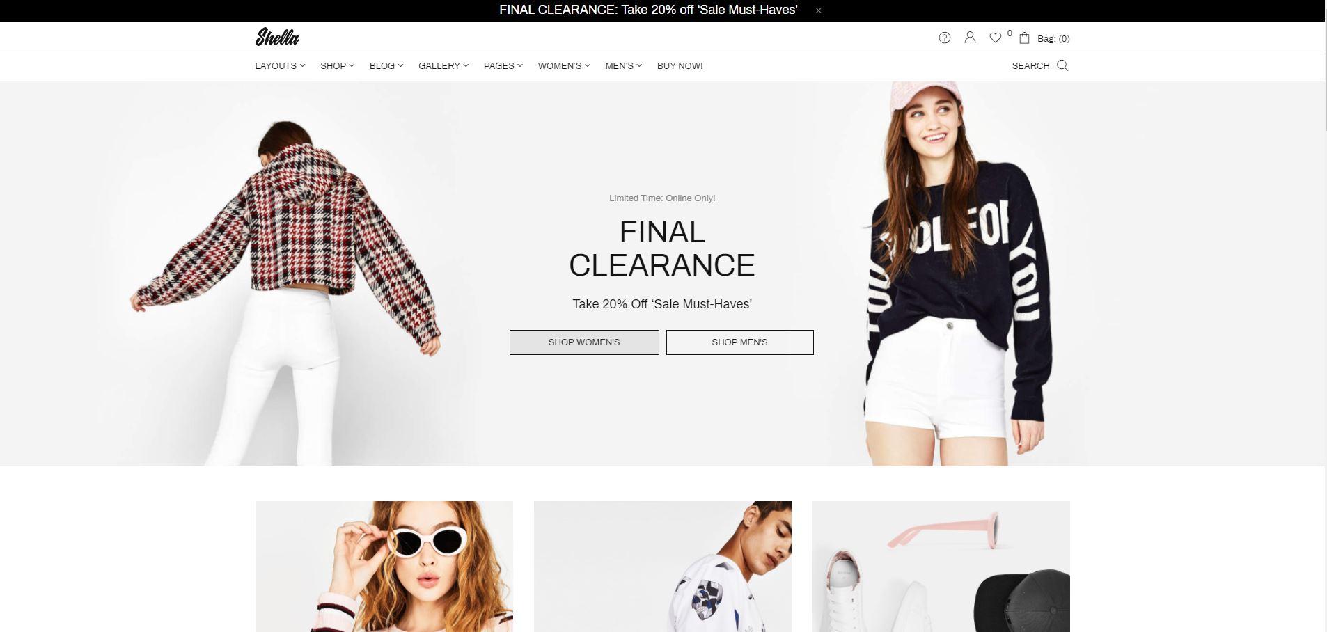 Fashion WooComerce themes