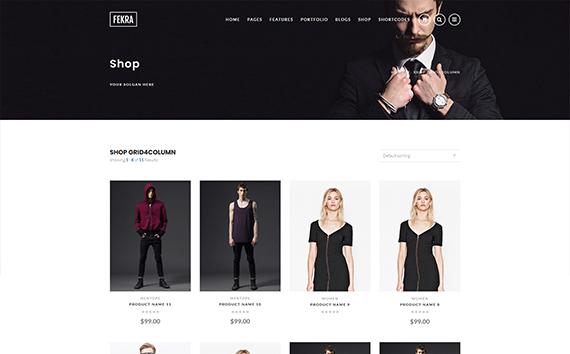 Fekra Responsive e-Commerce WordPress Theme