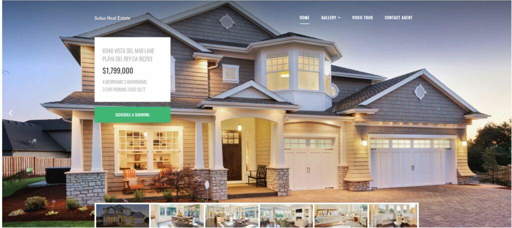 Solus Free estate WordPress themes