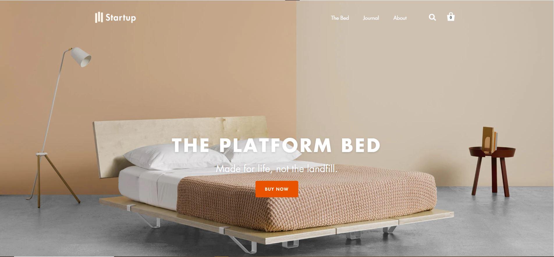 Shopify furniture theme