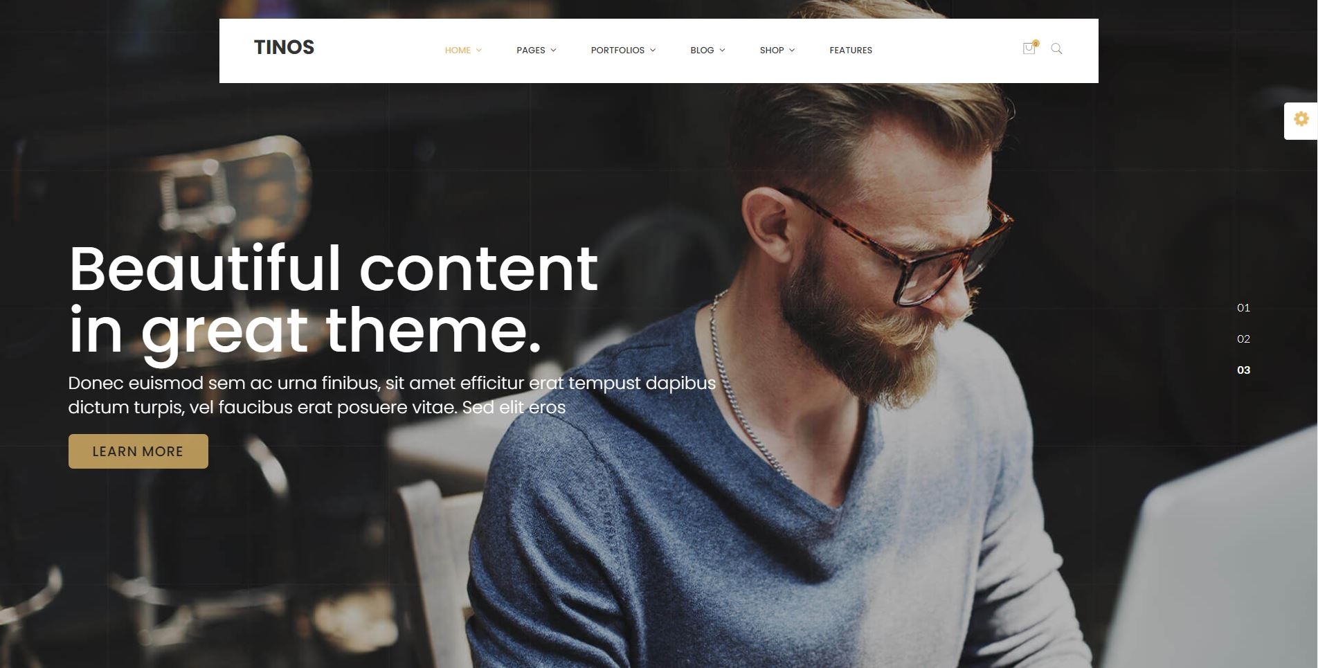 personal WordPress Theme free