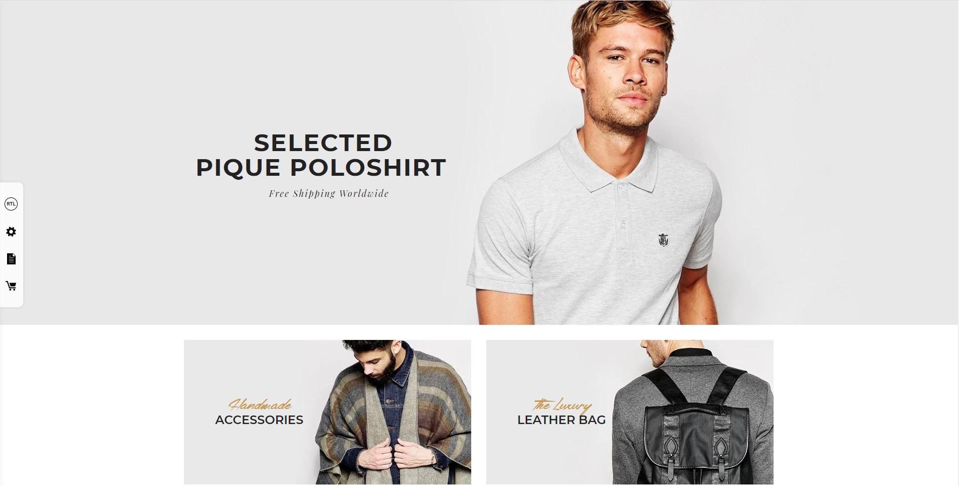 Boutique Fashion WooComerce themes