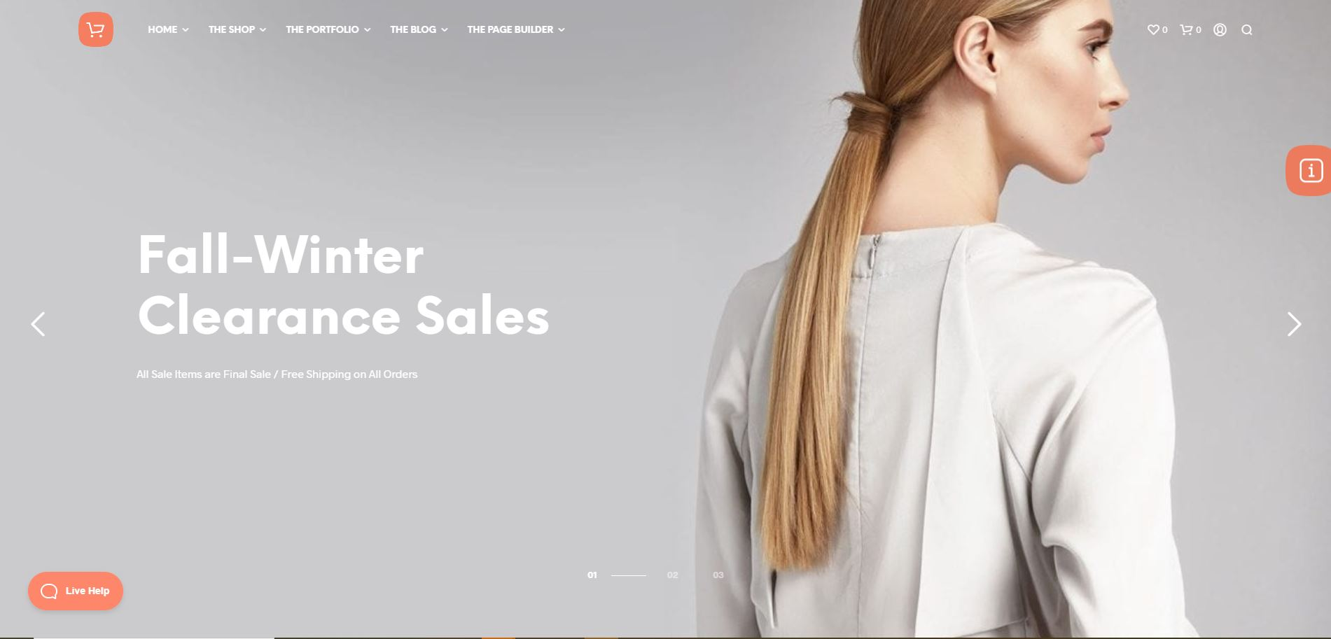 Shopkeeper  Fashion WooComerce themes
