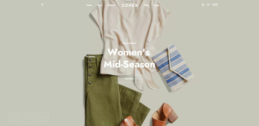 Zonex Fashion WooComerce themes