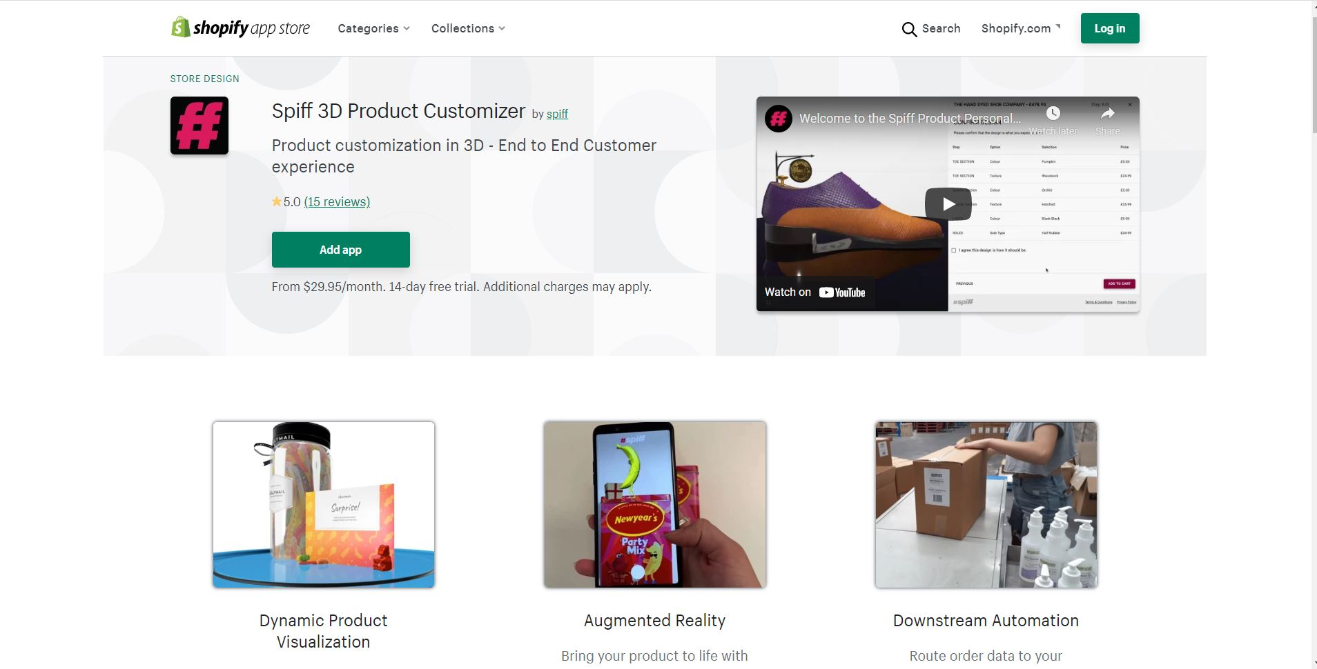 Spiff 3D Product Customizer