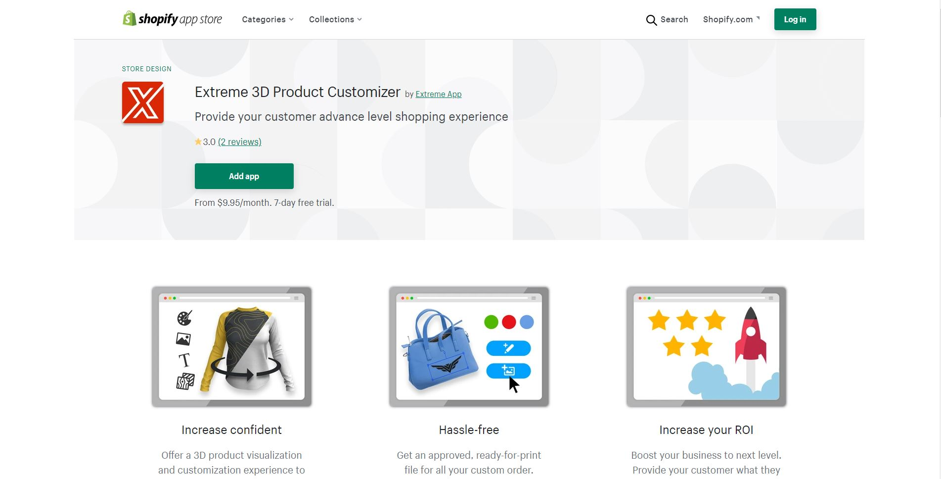 Extreme 3D Product Customize