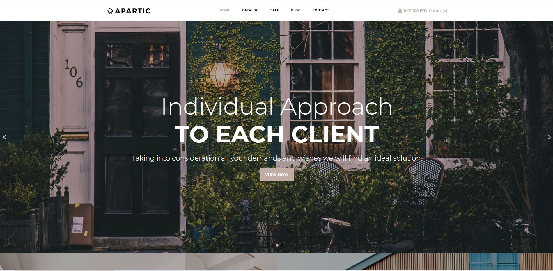 Apartic Real Estate Shopify Themes