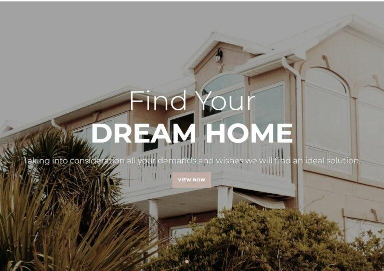 Shopify real estate theme