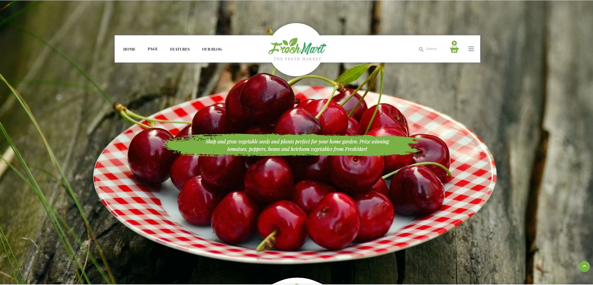 FreshMart Fruits and vegetables Shopify Theme