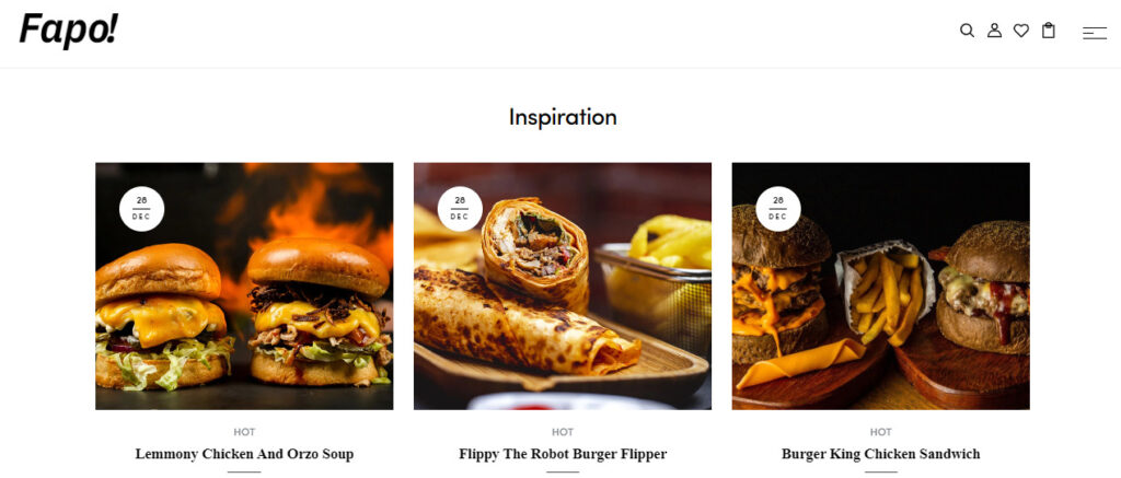 food store Shopify theme