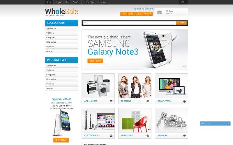 Wholesale Store Shopify Theme