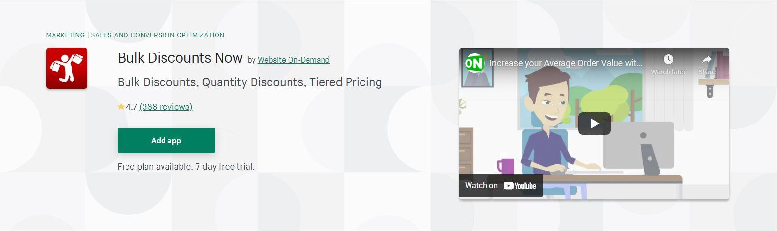 Bulk Discounts Now