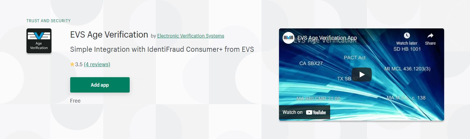 Shopify age verification app